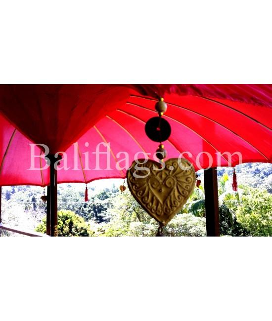 Red Bali 3 metre Market Umbrella