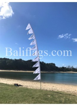 White Wedding Multi Flag