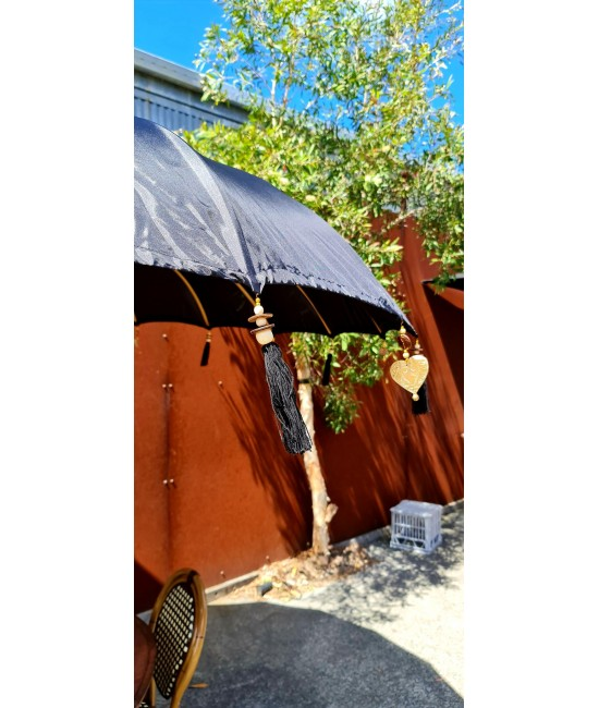 Black Balinese Umbrella