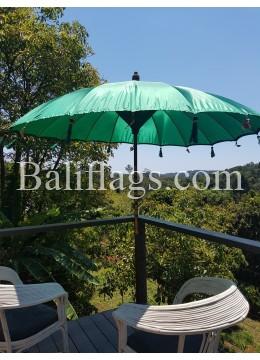 Dark Green Bali Umbrella