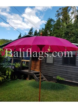 Fuchsia Watermelon 3 metre Bali Market Umbrella