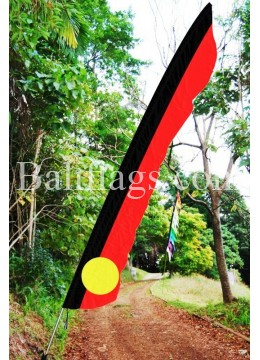 Bali Indigenous Style Feather Flag