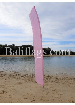 Pink Feather Flag