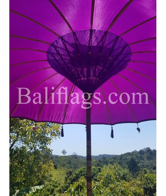Purple Bali Umbrella