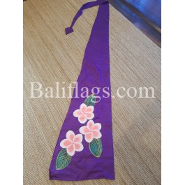 Purple Frangipani Flag