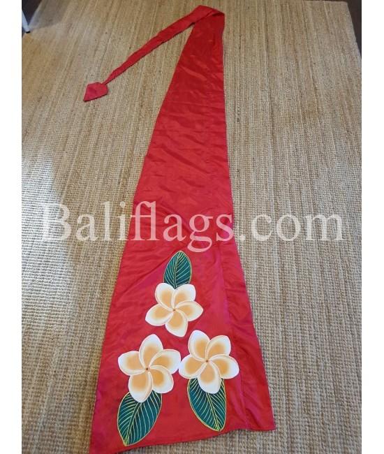 Frangipani Flag Red