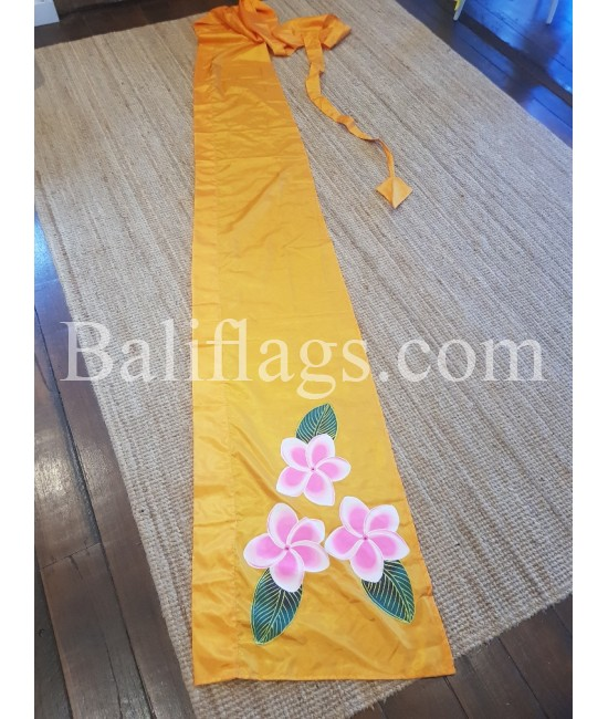 Yellow Gold Frangipani Flag