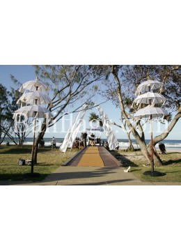 Luxury Bali White Beach Wedding Pack