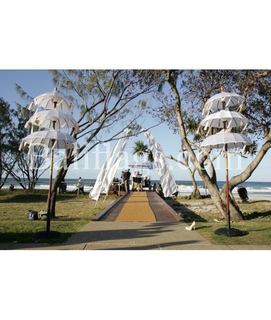 Luxury Bali White Beach Wedding Pack