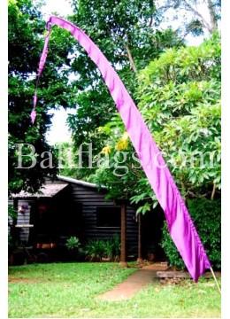 Purple Bali Flag