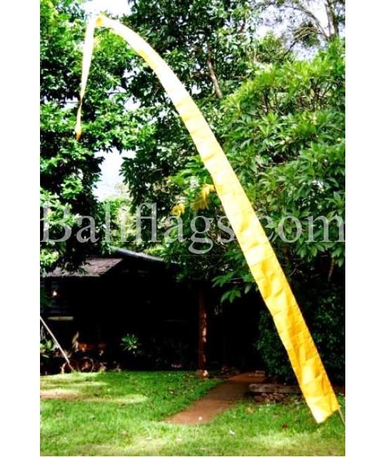 Yellow Gold Bali Flag
