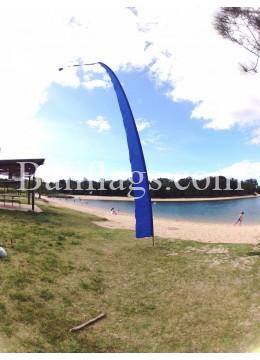 Blue Bali Flag