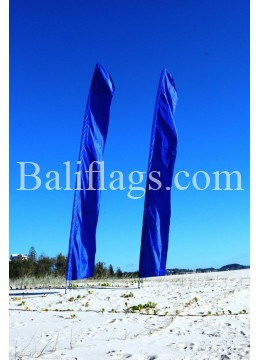Blue Feather Flag