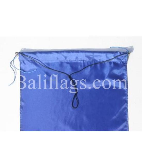 Blue Dancing Flag