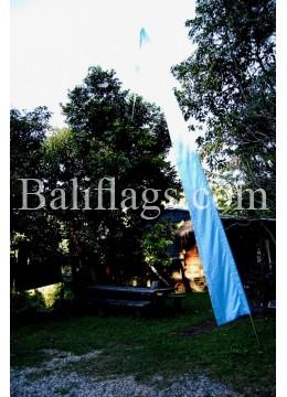 Pale Blue Bali Flag