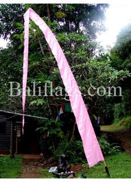 Pastel Pink Bali Flag