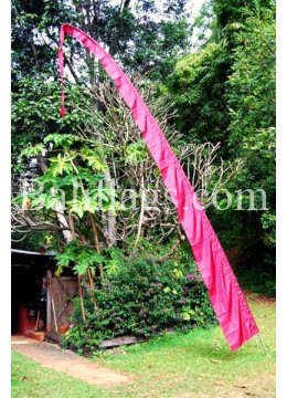 Silver 5 metre Bali Flag Poles