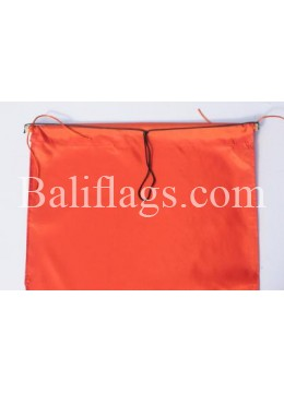 Orange Dancing Flag