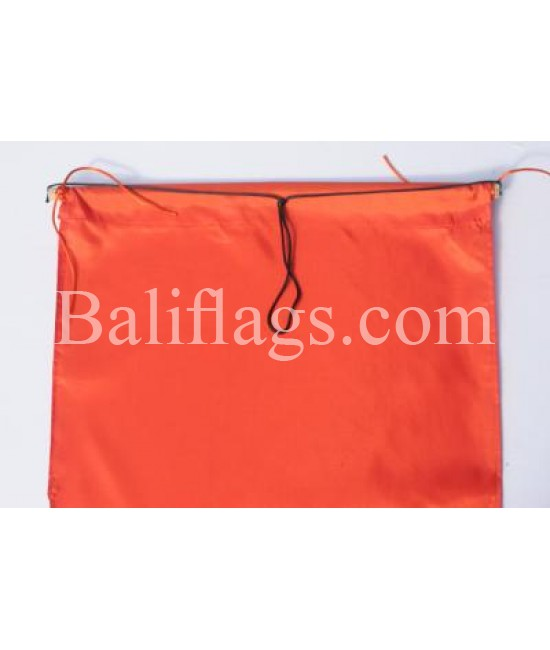 Orange Dancing Flag
