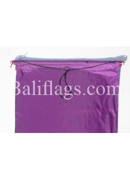 Purple Dancing Flag
