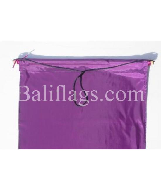 Purple Dancing Flag