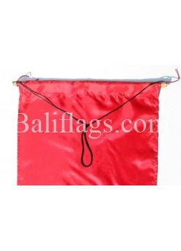 Red Dancing Flag