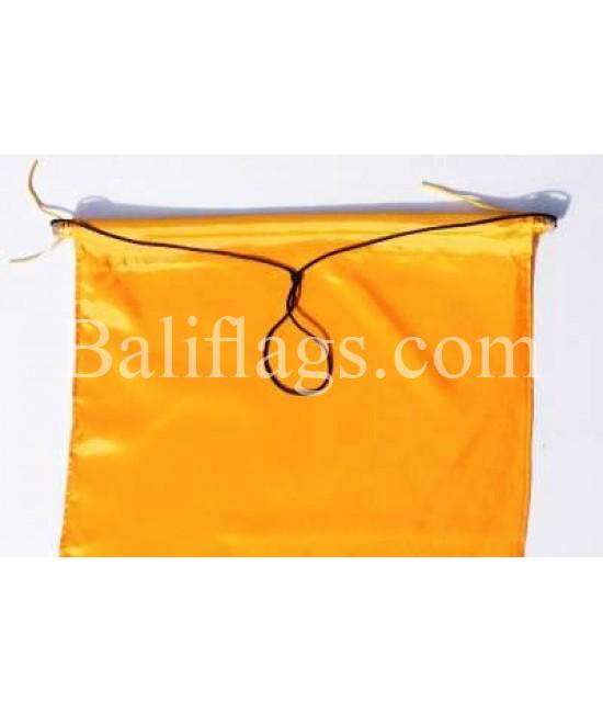 Yellow Dancing Flag