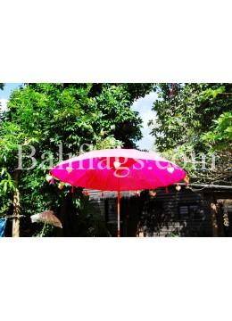 Fuchsia Watermelon 3 metre Bali Market Umbrella