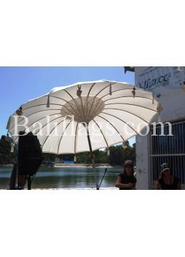 White Large Bali Umbrella (3 metre)