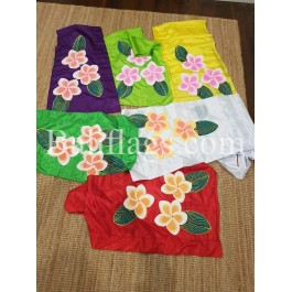 Frangipani Flags Hand Painted (7)