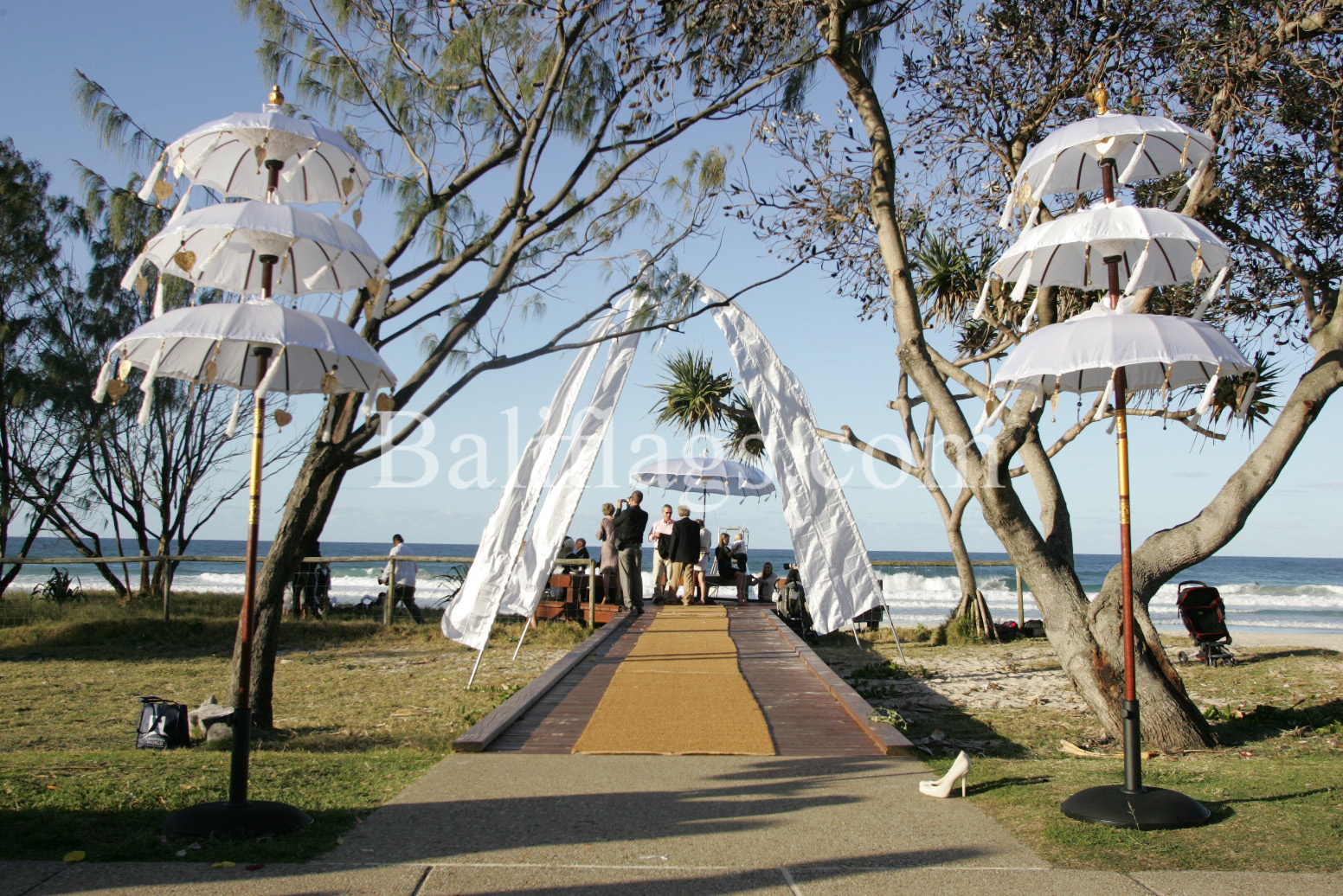 Bali-Wedding-Flags